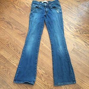Levi's 318 super low boot cut jeans